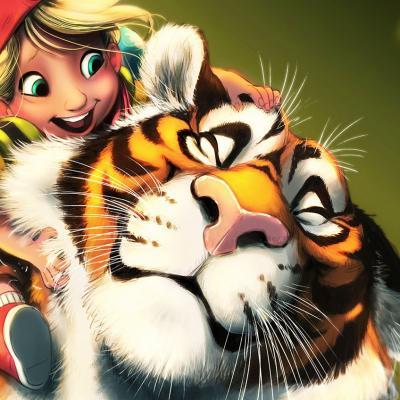 Alba tiger