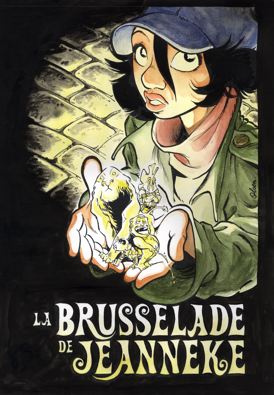 LA BRUSSELADE DE JEANNEKE Couv