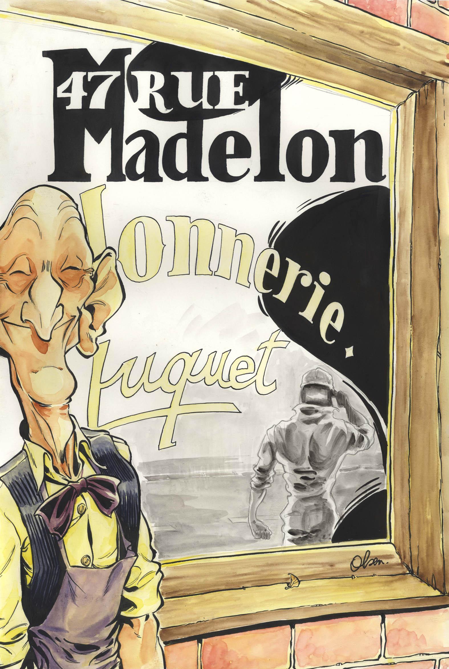 47, RUE MADELON Couv
