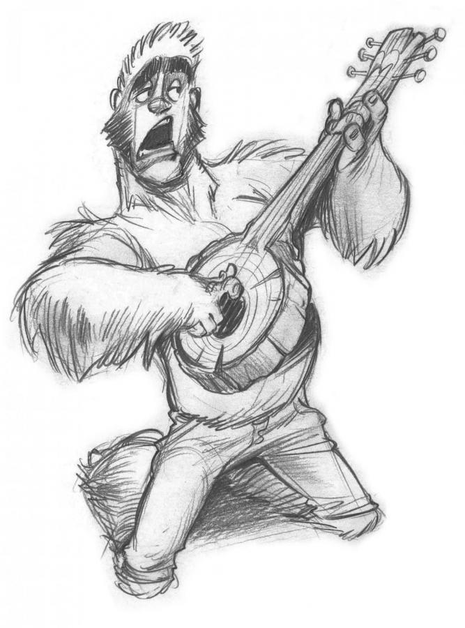 Bigfoot Rock n' Roll!