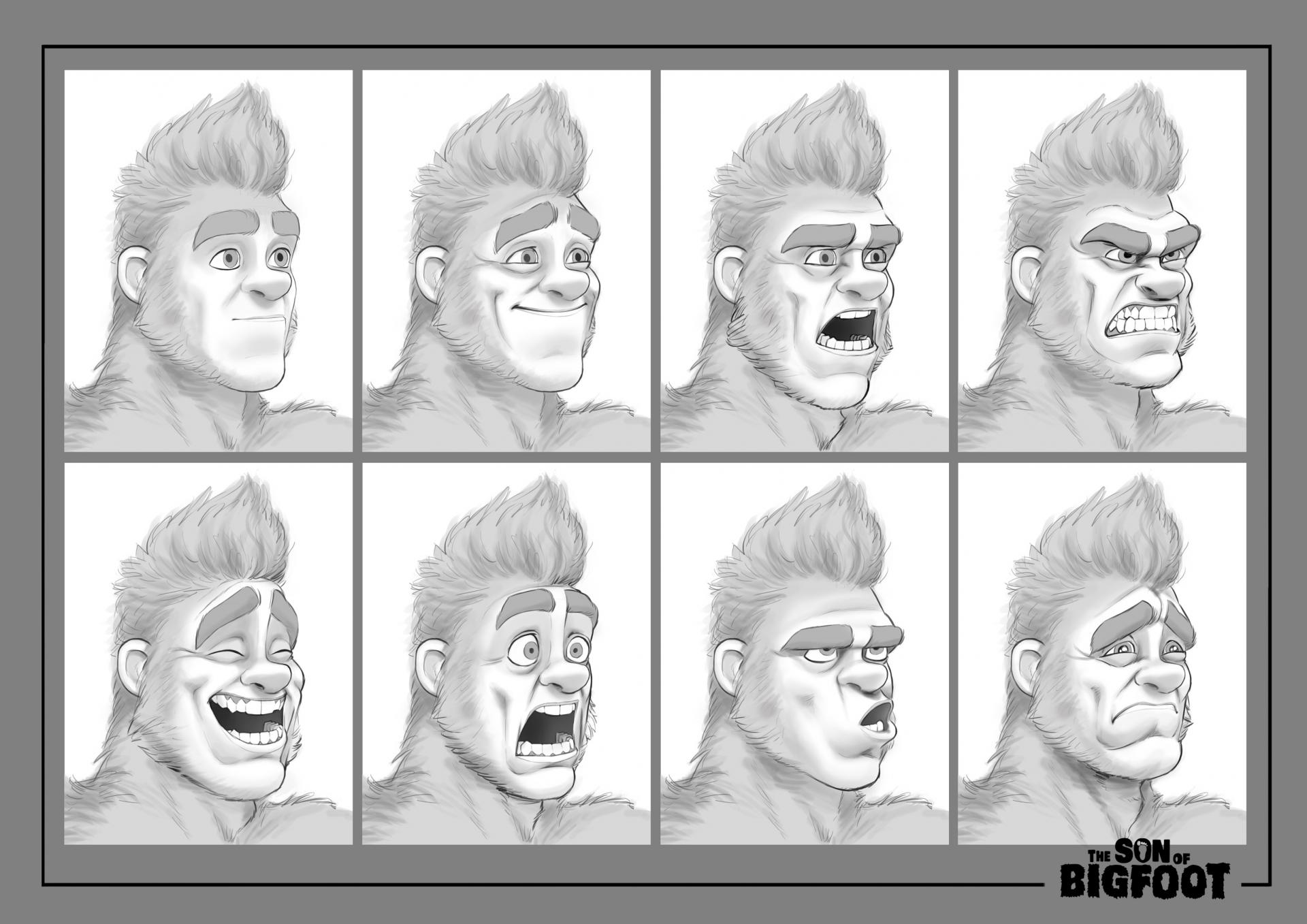 Bigfoot expression sheet