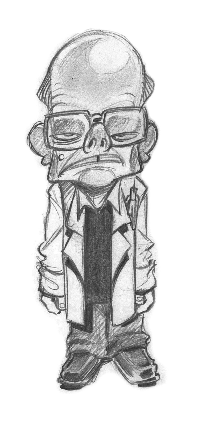 Billingsley First sketch