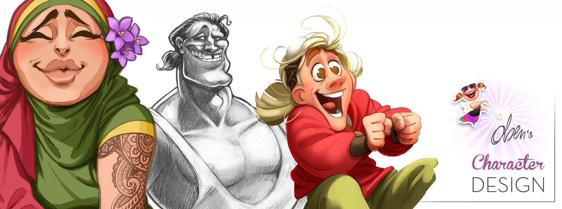 Olsen's Character designs