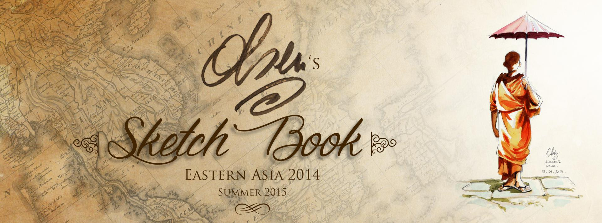 Sketch Book - Eastern Asia - 2014