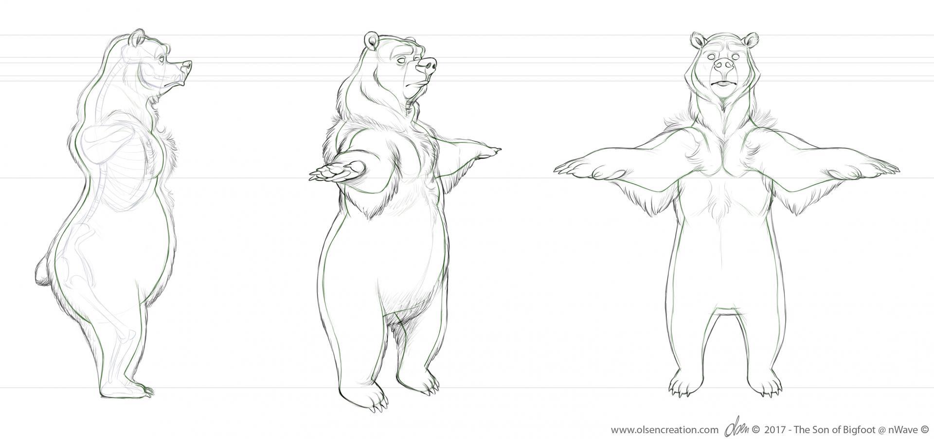 Wilbur body turn